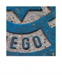 EGO. De la serie Palabras que guardan abismos, 2004. Juan Santos.